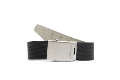 MEN BELT black rip