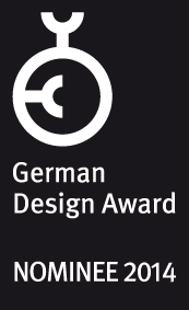 GERMAN DESIGN AWARD NOMINEE 2104